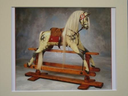 JR Smith rocking horse