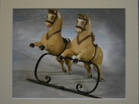 Antique Rocking Horse Picture