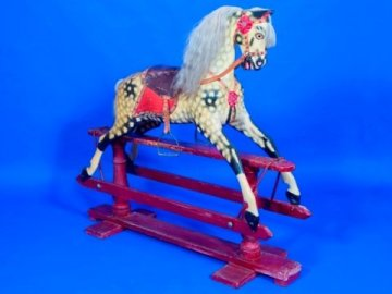 Ayres antique rocking horse
