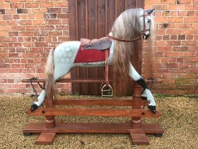 genuine F H Ayres rocking horse