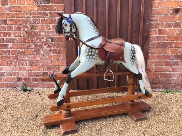 antique ayres rocking horse