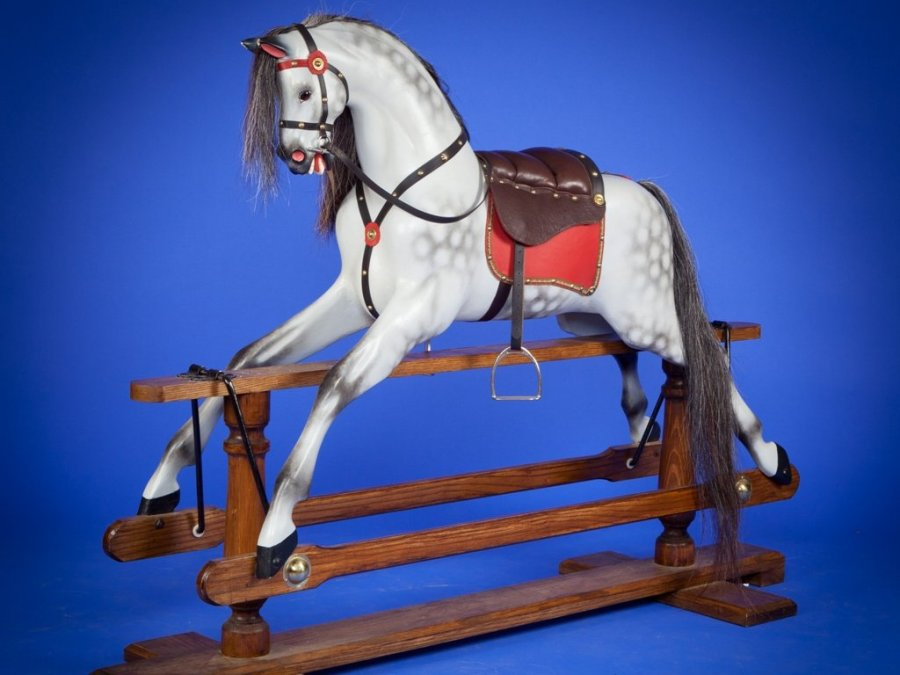 Antique Lines rocking horse