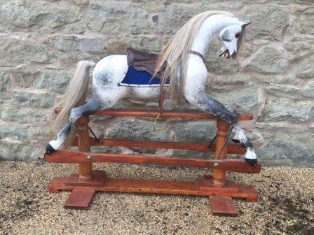 heirloom Lines rocking horse