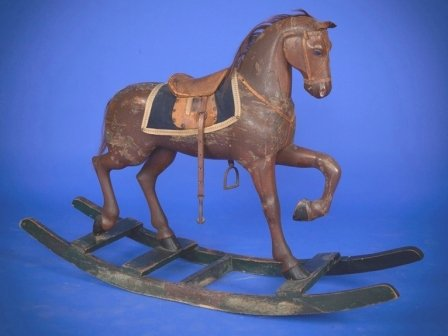 Gemla antique rocking horse