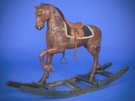 Gemal antique rocking horse