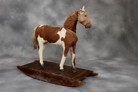 Antique german rocking horse