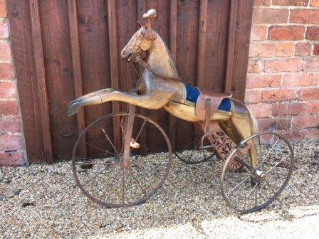 antique toy tricycle