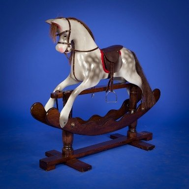 Ian Armstrong rocking horse
