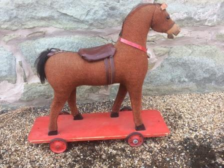 German plush toy horse