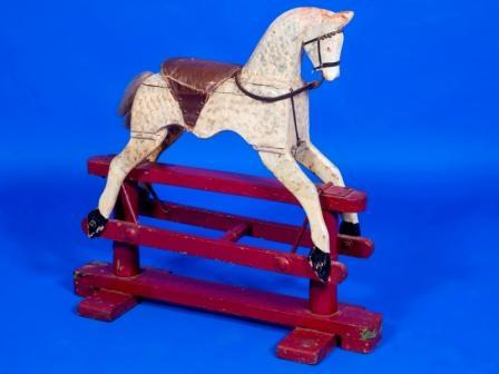 Crossley Bros rocking horse