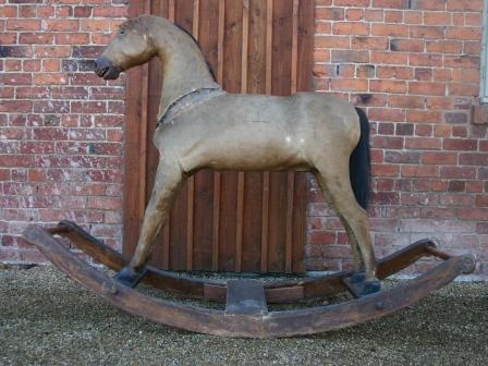 Large german bow rocking horse