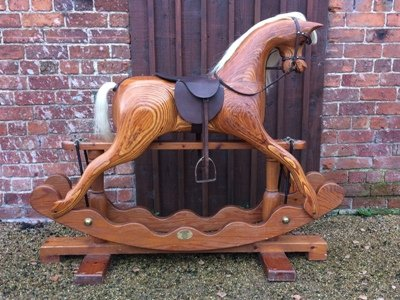 Armstrong rocking horse