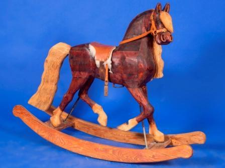 Contemporary rocking horse