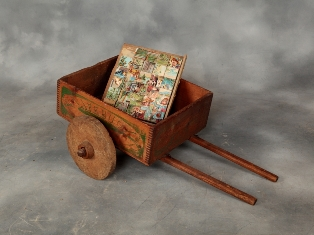 Antique soapbox cart