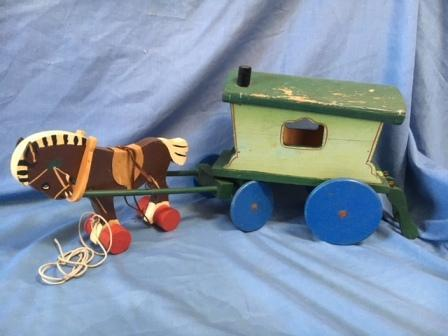 Triang toy wagon