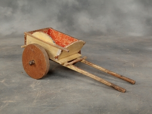 Antique toy cart