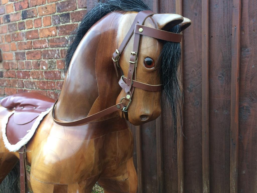 large bow rocking horse for sale