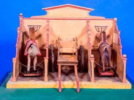 antique toy stables