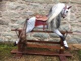 Restored Baby Carriages rocking horse