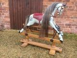 antique Lines rocking horse for sale