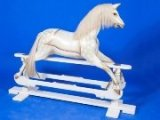 Whittingham Crafts rocking horse